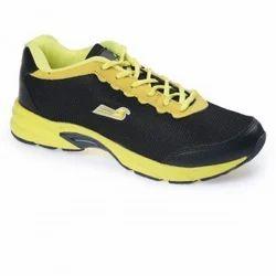 Mens Yellow Black Shoes