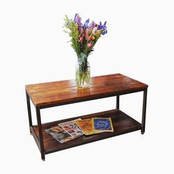 Iron Wood Mix Coffee Table
