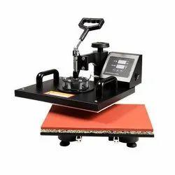 Combo Heat Press Machine, Model Name/Number: 5in 1, Automatic Grade: Semi-Automatic