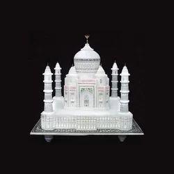 White Decorative Marble Taj Mahal