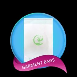 TRANSLUCENT COMPOSTABLE GARMENT BAGS, Size: CUSTOMIZABLE, Thickness: 20 Microns Onwards