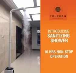 Workplace Sanitizing & Fogging Shower