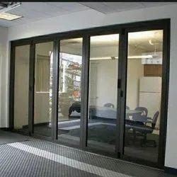 Indoor Aluminium Partition Hinged Door