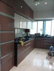 PVC Laminate Modular Kitchen