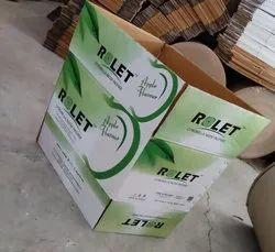 Brown Die-Cut Corrugated Boxes, Weight Holding Capacity (Kg): 5 - 10 Kg