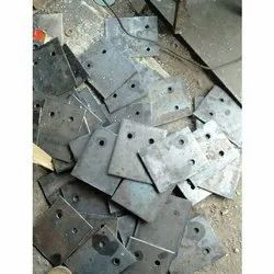 Mild Steel Base Plates, for Industries, Size: 8 X 12 Cm