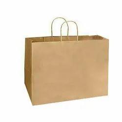 Brown Loop Handle Craft Paper Carry Bag