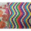 Chiffon Viscose Lohariya Fancy Fabrics, Use: Saree