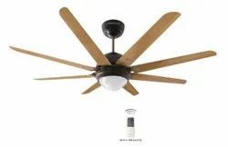 Octet Underlight Walnut Black Nickel Ceiling Fan