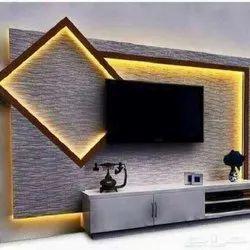 Modular Wooden TV Unit
