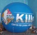 Promotional Sky Blue Balloon