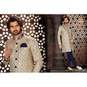 Designer Heavy Sherwani with Indowestern Bridges