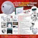 Robotic Vacuum Cleaner Cum Sanitizer Sprayer