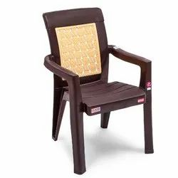 3.6 Kg With Hand Rest (arms) Avro 2581 Beige Molded Plastic Arm Chair