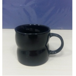 Ceramic Twisted Coffee Cup