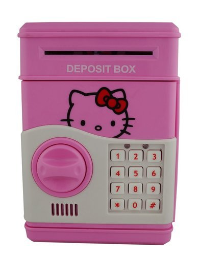 ff610fcd2 Electronic Atm Machine Cum Piggy Bank For Kids - Hello Kitty at Rs ...