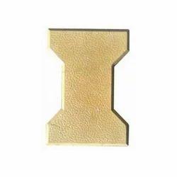 60 mm Yellow Interlocking Cement Tile