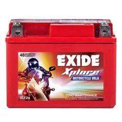 Exide Xplore Xltz4 Motor Cycle Vrla, Capacity: 12v 3 Ah, Warranty: 48 Months