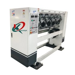 KARUNYA Online Thin Blade Slitter Scorer Electric Adjustment Model