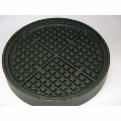 Black Imported PTFE Non-Stick Coating on Waffle Irons