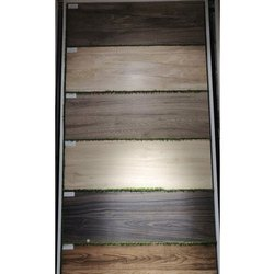 Vetrified Gloss Wooden Vitrified Tile, Thickness: 5-15 mm