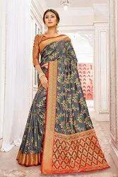 Pr Fashion Launched Designer Silk Based Saree