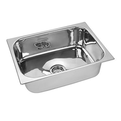 Stainless Steel Undermount Single Bowl Kitchen SS Sink, Bowl Size: 18x16 Inch
