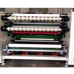 BOPP Tape Roll Cutting Machine