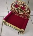 Meenakari Wooden Sofa For Gods And Religious Gifts