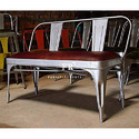 Restaurant Leather Bench - FurnitureRoots