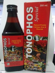 TONOPHOS with Ashwgandha, Bharmi, Shankpuspi, Packaging Type: 200mL