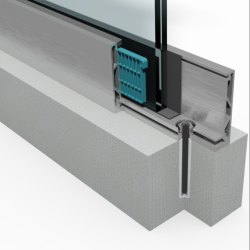 BAPS-024 Aluminum Glass Profile