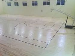 Maple Wood Basketball Flooring