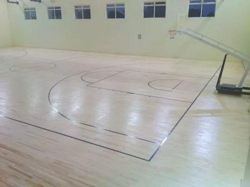 Maple Wood Basketball Flooring For, Laminate Basketball Flooring