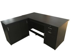 Western Interio L Shape ED 18 Executive Table for Corporate Office