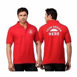 Promotional Collar Neck T-Shirt