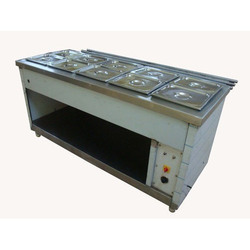 SS Commercial Bain Marie Counter