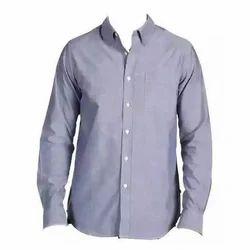 S Plain Mens Shirt