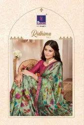 Shangrila Ridhima Vol-2 Georgette Printed Saree