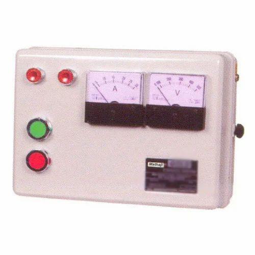 1-3 HP Single Phase Motor Starter, Mathaji Industries | ID: 17788188162