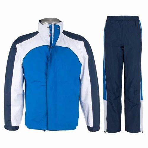e2907f353ba5 Blue And White Mens Sport Tracksuit