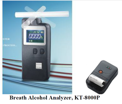 Breath Alcohol Analyzer KT8000P With Printer