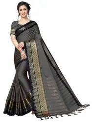 Meenakari Soft Cotton Saree