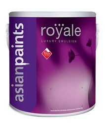 Royale Luxury Emulsion Of Asianpaints, Packaging Type: Can