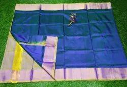 Ladies Plain Banarasi Silk Saree