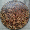 Round Bar Table Top