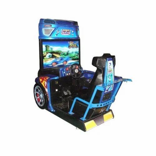sonic racing simulator arcade game machine at rs 175000 set chowk