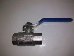 SS 304 Screwed End Ball Valve
