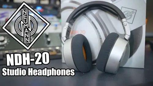 Black Over The Head Neumann NDH 20 Monitor Headphones