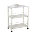 Stainless Steel Bedside Trolley